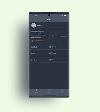 Aplikacja OBU1 Driver